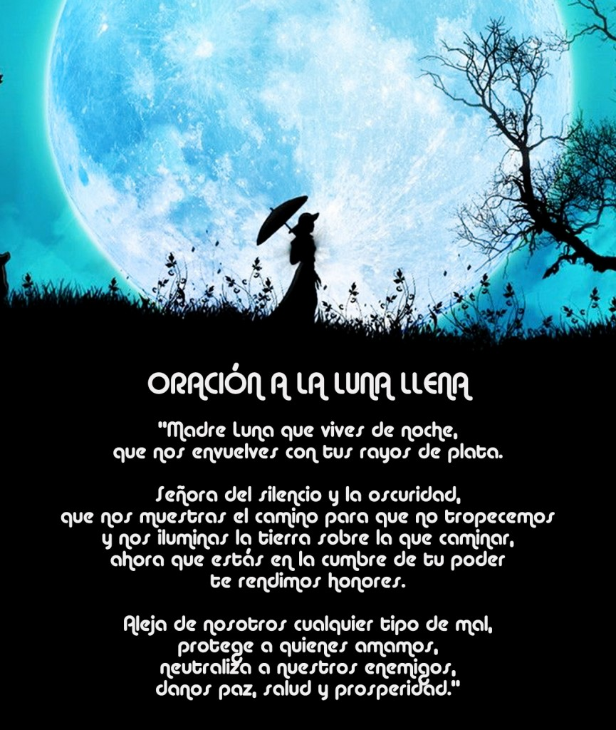 Oracion Luna